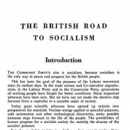 British Road to Socialism, 1958 version