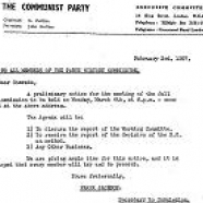 Party History Commission, 1955-1958