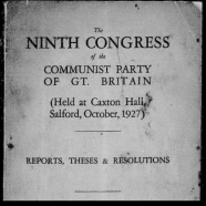 9th Congress, 1927