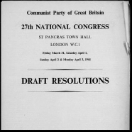27th Congress, 1961