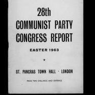 28th Congress, 1963