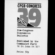 39th (special) Congress, 1985