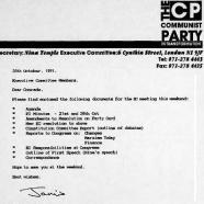 EC materials, 1991