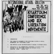 International affairs bulletin, 1966-1972