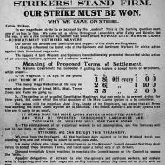 Lancashire textile strike