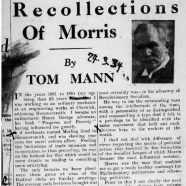 Tom Mann and His Times