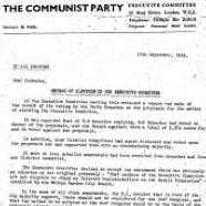 Commission on the Method of Election of the EC, 1945-1947