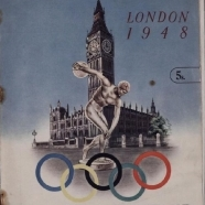 Programs from the 1948 Olympics, Asian Games, 1st Czech Spartakiade and the British Games