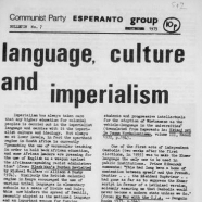 CPGB Esperanto Group